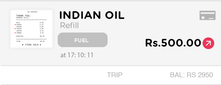 Happay Indian Oil Refill