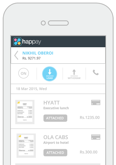 Happay Prepaid Card
