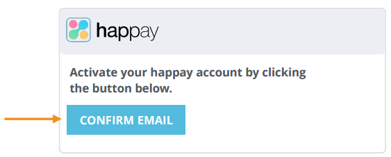 Happay Confirm Email